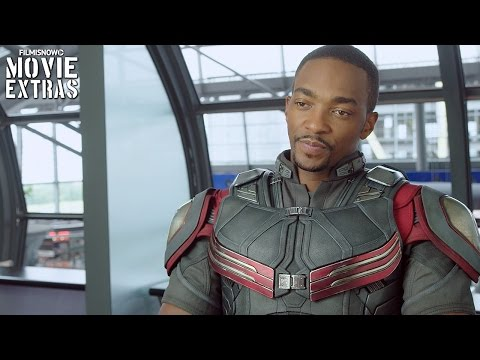 Captain America: Civil War | On-set with Anthony Mackie 'Sam Wilson \ Falcon' [Interview]