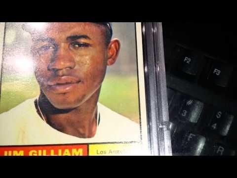 1961 Topps Jim Gilliam PSA 9