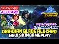 Obsidian Blade Alucard New Skin Gameplay [ Top Global Alucard ] •DevilNeverCry• - Mobile Legends