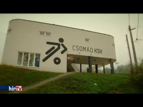 Sportöltöző Csomádon HírTV