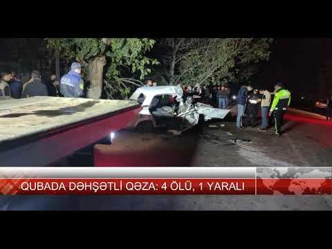 Download SON DƏQİQƏ! Qubada dəhşətli qəza! 4 nəfər öldü, 1 ağır yaralı