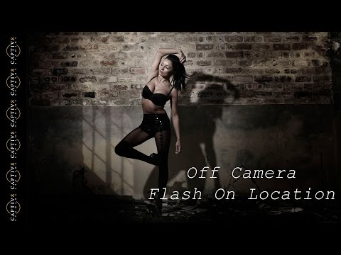 Shooting Off Camera Flash With Ambient Light