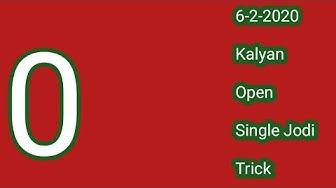 Kalyan Open Today | 6 February 2020MatkaHot |