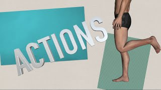 Actions of the Lower Body w/ Muscles - Kinesiology Quiz