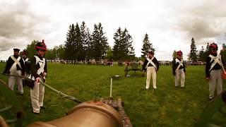 Napoleon is Back: Rehearsal reenactment of the Battle of Borodino (360 VIDEO)