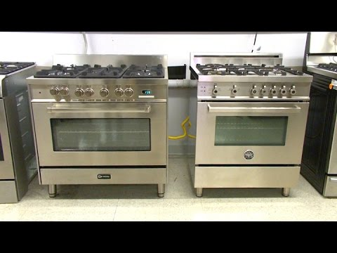 Italian Pro Style Ranges: Stainless Steals? | Consumer Reports
