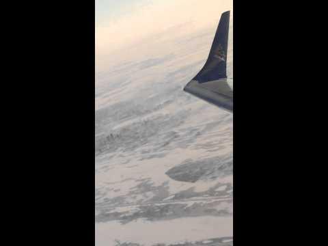 Air Astana Embraer 190 over Astana,Kazakhstan