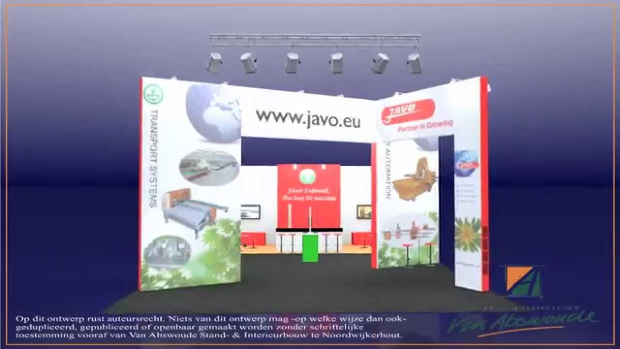 Van abswoude standbouw & interieurbouw : stand javo op de ipm 2011