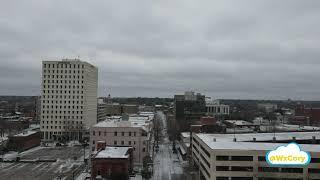 Louisiana Winter Storm 2021 Drone Footage