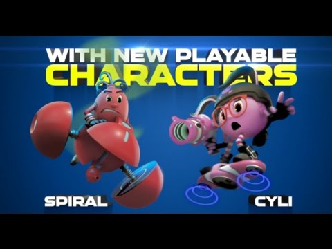 Pac-Man And The Ghostly Adventures 2 - SDCC 2014 Trailer