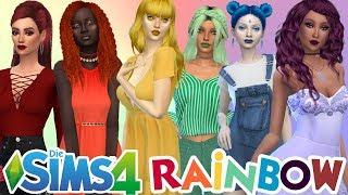 So SCHÖNE SIMS! Rainbow Challenge - Die Sims 4   simfinity