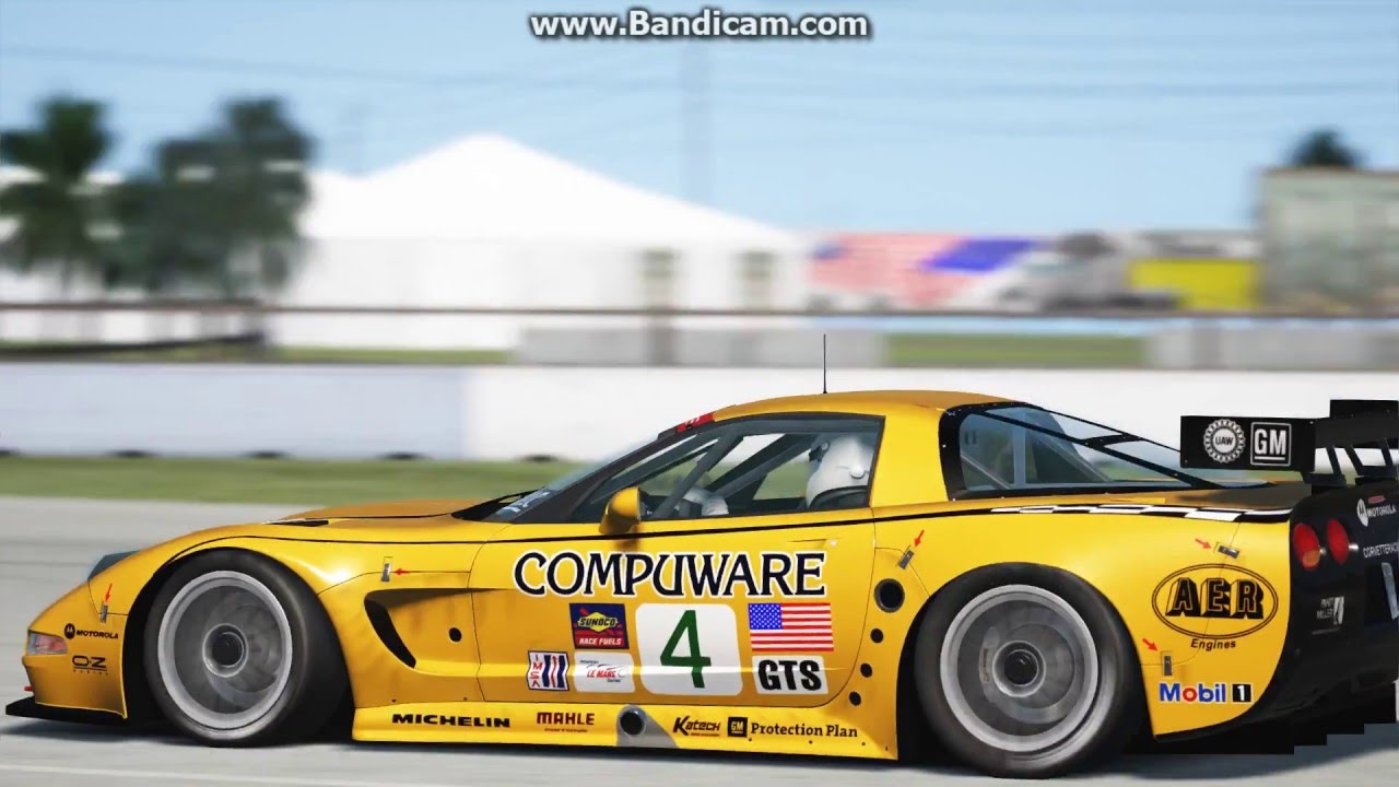 Assetto Corsa Chevrolet Corvette C5r Gt1 Youtube