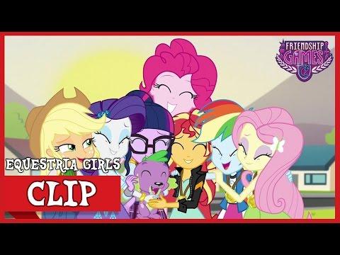 Twilight Transfers To CHS | MLP: Equestria Girls | Friendship Games! [HD]