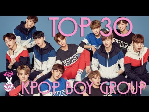 Top 30 Official Rankings Of KPop Boy Groups (October 2017) {Brand Reputation}