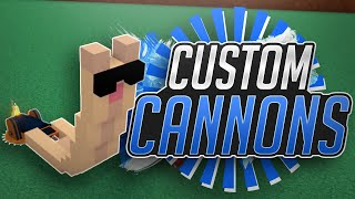 CUSTOMIZABLE CANNONS!!! - Build a Boat For Treasure PORTAL UPDATE! ROBLOX