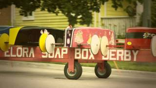 Soap Box Derby - Dominion Day 2013 - Elora, Ontario