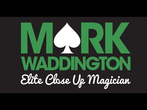 Astounding Wedding magician Mark Waddington 2016