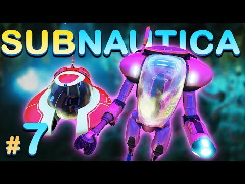 SEXY VEHICLES, DRILL ARM, GRAPPLING HOOK AND ENDLESS COPPER!  - Subnautica Survival Gameplay #7