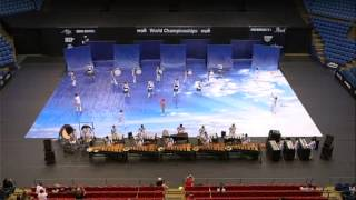 azle high school indoor drumline up in the air 2015 wgi world championships