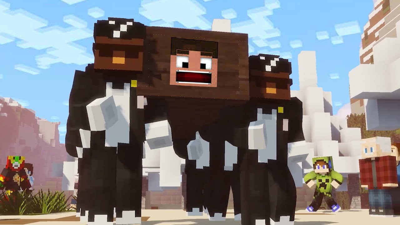 Minecraft Animation: Coffin Dance Meme Song 'Astronomia'