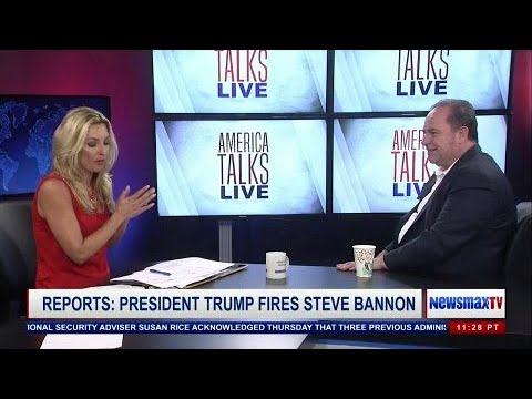 Chris Ruddy on Bannon, Charlottesville and Confederate Statues