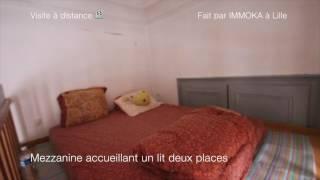 Réf DEV1 - Grand studio style bourgeois - Idéal étudiant - Lille Vauban