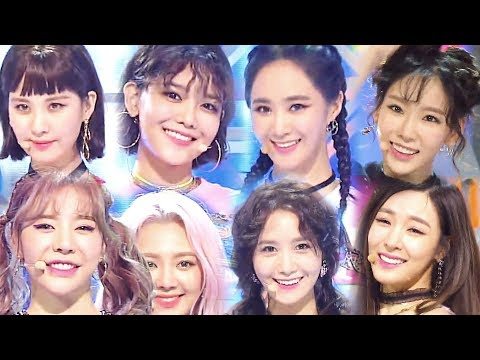 《Comeback Special》 GIRL'S GENERATION(소녀시대) - Holiday @인기가요 Inkigayo 20170813