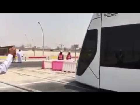 Metro Train in Qatar - First Day