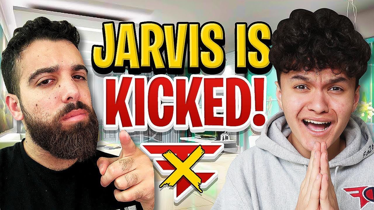 KICKING MY 16 YEAR OLD LITTLE BROTHER FROM FAZE (FaZe Jarvis)