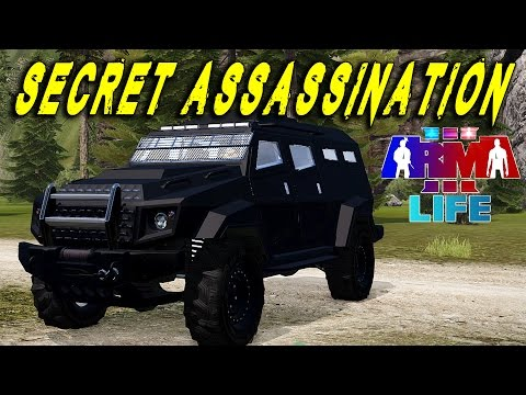 Arma 3 Life Police - Metropolis - Secret Assassination Of The Mayor