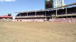 Fallon & Babyflo win round 1 Calgary stampede