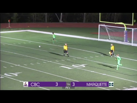 CBC vs Marquette | Varsity Soccer | Opening Round of Playoffs