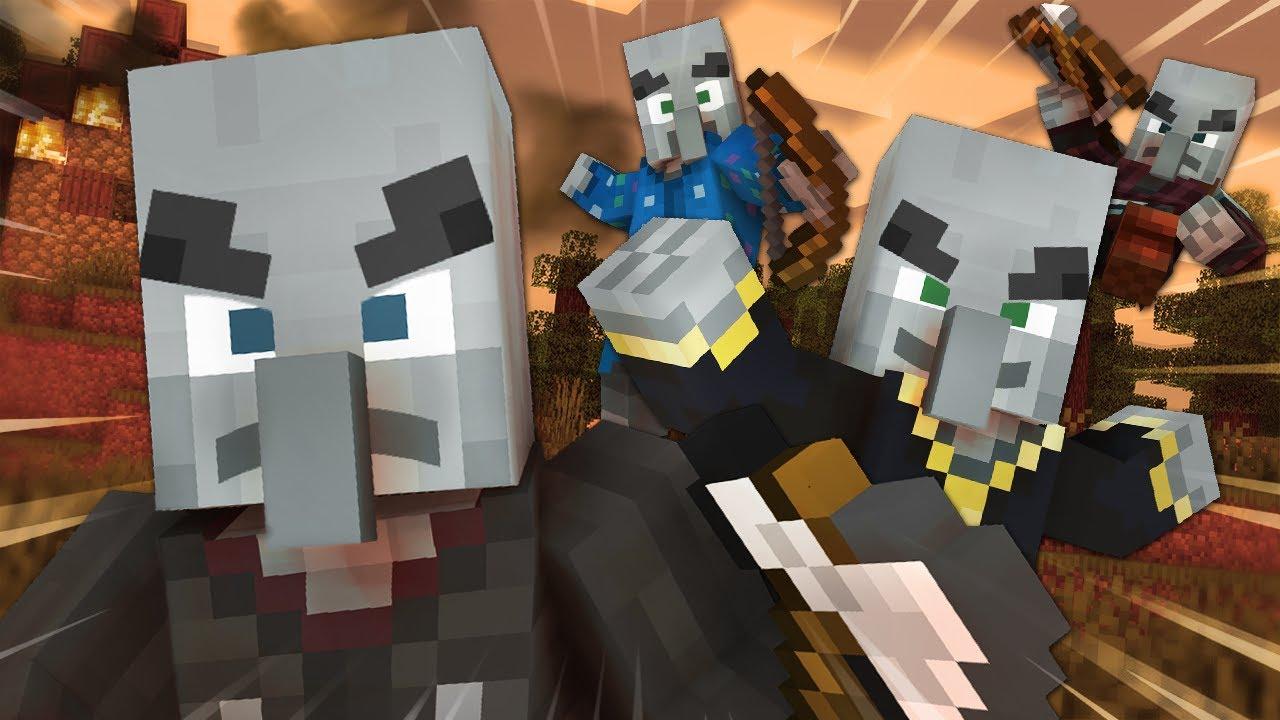 Illager Family!!! | Minecraft Animation