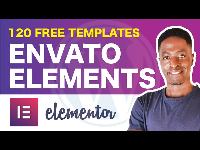 Envato Elements for Elementor Plugin: Access free and premium templates and blocks for elementor