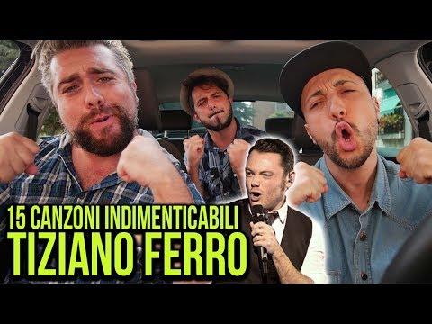 15 CANZONI DI TIZIANO FERRO INDIMENTICABILI ! - (LIPSYNC CAR #7) - hmatt