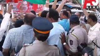 Bhendi Bazar Par Gunje Bharat Mata Ki Jae K Nare