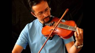 47 year old learning the fiddle for the first time-Aug., 01 2010.wmv