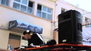 Dj TNT & Dj Hueman (MC4) en la secundaria 39 - Caravana Respeto Hiphop