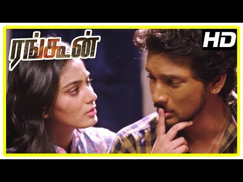 Rangoon Movie Scenes | Siddique wants Gautham and his friends to return the money | Sana