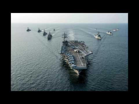 U S  Navy moves another massive aircraft carrier close to North Korea