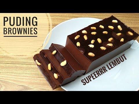 Resep Puding Brownies Super Lembut Youtube