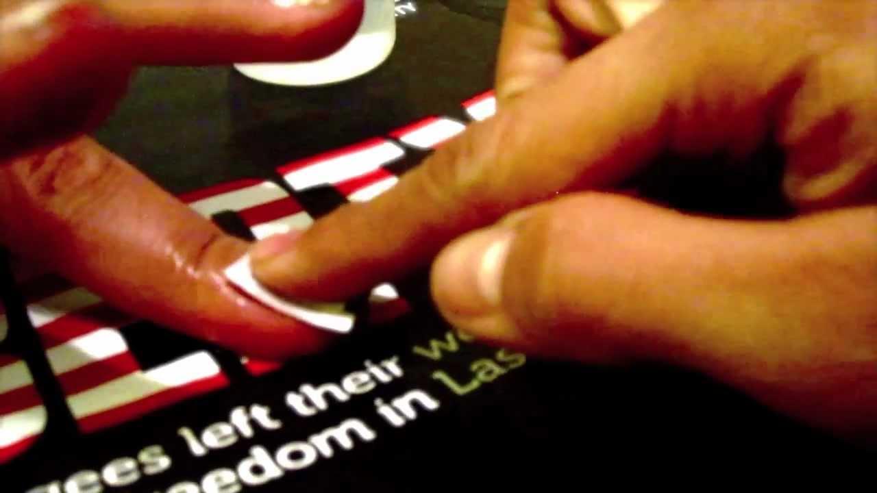 Tutorial: Newspaper Nails - YouTube