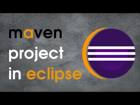 How to create maven project in eclipse using archetype