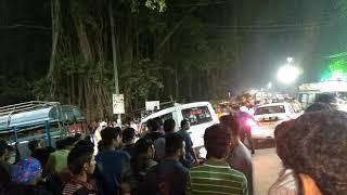 Bus accident in Mahanadi bridge in Cuttack