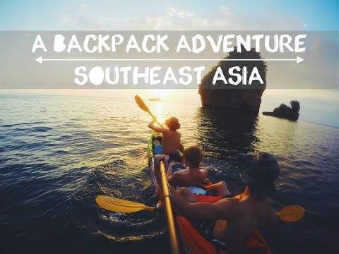 A Backpack Adventure | Southeast Asia | GoPro | 60 fps