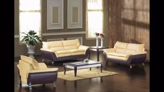 Divani Casa 2819   Modern Bonded Leather Sofa Set