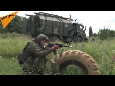 Field Communications Crewmen Military Drills