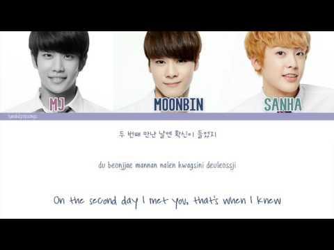 ASTRO [MJ, Moonbin, & Sanha) (아스트로) - It's The Same (똑같아) [Color Coded/Eng/Han/Rom]