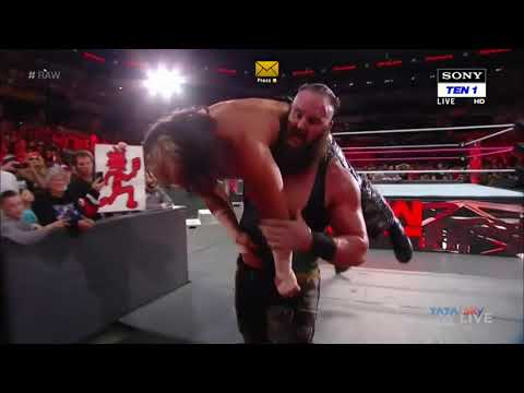 WWE Fan's Good News The Shield Is Return And Attack Braun Strowman