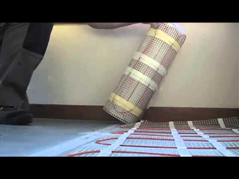 Electric Underfloor Heating Mat ECOFLOOR